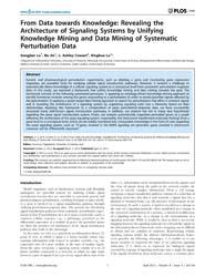 Plos One : from Data Towards Knowledge ;... by Pappalardo, Francesco