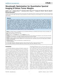 Plos One : Wavelength Optimization for Q... by Katoh, Masaru