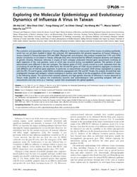 Plos One : Exploring the Molecular Epide... by Khudyakov, Yury, E.