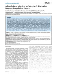 Plos One : Adrenal Gland Infection by Se... by Stieger, Knut