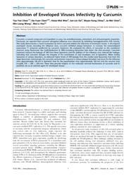Plos One : Inhibition of Enveloped Virus... by Harrich, David