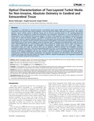 Plos One : Optical Characterization of T... by Hoshi, Yoko