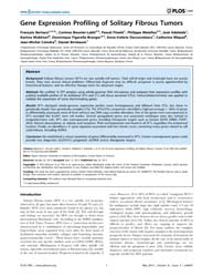 Plos One : Gene Expression Profiling of ... by Samant, Rajeev