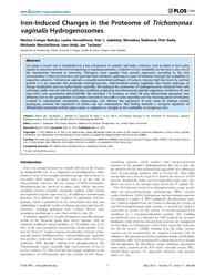 Plos One : Iron-induced Changes in the P... by Kaufmann, Gunnar, F.