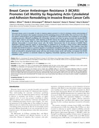 Plos One : Breast Cancer Antiestrogen Re... by Tang, Chih-hsin
