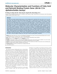 Plos One : Molecular Characterization an... by Permyakov, Eugene, A.