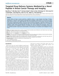 Plos One : Targeted Drug Delivery System... by Black, Keith, L.