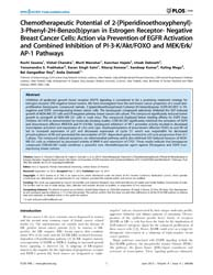 Plos One : Chemotherapeutic Potential of... by Agoulnik, Irina, U