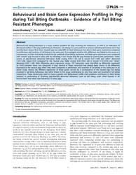 Plos One : Behavioural and Brain Gene Ex... by Moore, Stephen