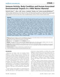 Plos One : Immune Activity, Body Conditi... by Terenius, Olle