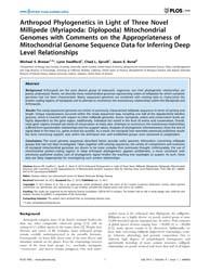 Plos One : Arthropod Phylogenetics in Li... by Hejnol, Andreas