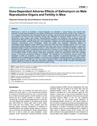 Plos One : Dose-dependent Adverse Effect... by Koul, Hari