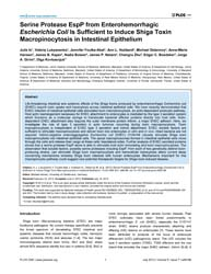 Plos One : Serine Protease Espp from Ent... by Hensel, Michael
