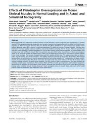Plos One : Effects of Pleiotrophin Overe... by Strack, Stefan