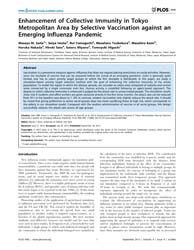 Plos One : Enhancement of Collective Imm... by Boni, MacIej F.