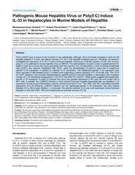 Plos One : Pathogenic Mouse Hepatitis Vi... by Moraes, Maria Leite De