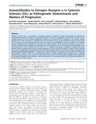 Plos One : Autoantibodies to Estrogen Re... by Feghali-bostwick, Carol