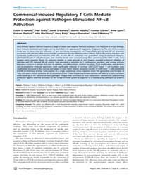 Plos Pathogens : Commensal-induced Regul... by O'Mahony,caitlin