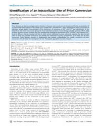 Plos Pathogens : Identification of an In... by Marijanovic Zrinka
