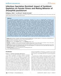 Plos Pathogens : Infectious Speciation R... by Parrish, Colin