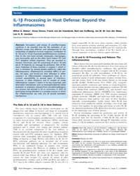 Plos Pathogens : Il-1B Processing in Hos... by Simon, Anna