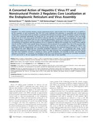Plos Pathogens : a Concerted Action of H... by Pekosz, Andrew