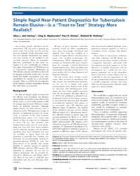 Plos Pathogens : Simple Rapid Near-patie... by Rall, Glenn, F.