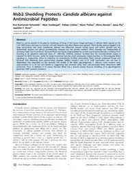 Plos Pathogens : Msb2 Shedding Protects ... by Cowen, Leah E.