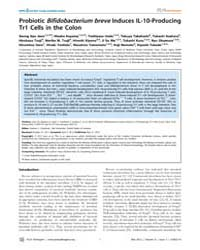 Plos Pathogens : Probiotic Bifidobacteri... by Goodman, Andrew L.