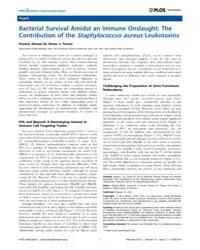 Plos Pathogens : Bacterial Survival Amid... by Miller Virginia