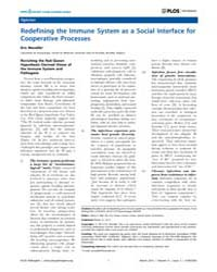 Plos Pathogens : Redefining the Immune S... by Rall, Glenn, F.