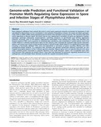 Plos Pathogens : Genome-wide Prediction ... by Tyler, Brett