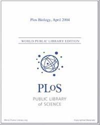 Plos : Biology, April 2004 by Bloom, Theodora