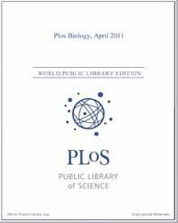Plos : Biology, April 2011 by Bloom, Theodora