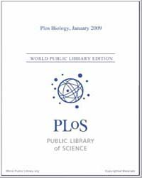 Plos : Biology, January 2009 by Bloom, Theodora