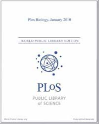 Plos : Biology, January 2010 by Bloom, Theodora