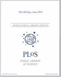 Plos : Biology, June 2004 by Bloom, Theodora