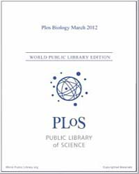 Plos : Biology, March 2012 by Bloom, Theodora