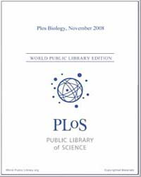 Plos : Biology, November 2008 by Bloom, Theodora