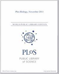 Plos : Biology, November 2011 by Bloom, Theodora