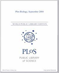 Plos : Biology, September 2008 by Bloom, Theodora