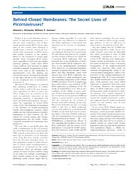 Plos : Pathogens, May 2013 by Haldar, Kasturi