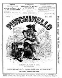 Punchinello : Volume 0001, Issue 10 June... by Punchinello Pub. Co