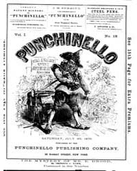 Punchinello : Volume 0001, Issue 18 July... by Punchinello Pub. Co