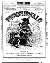 Punchinello : Volume 0001, Issue 26 Sept... by Punchinello Pub. Co
