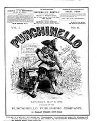 Punchinello : Volume 0001, Issue 6 May 7... by Punchinello Pub. Co