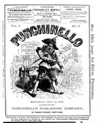 Punchinello : Volume 0001, Issue 7 May 1... by Punchinello Pub. Co