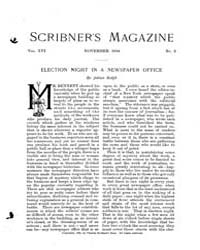 Scribner's Magazine : Volume 0016, Issue... by Charles Scribner's Sons