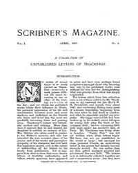 Scribner's Magazine : Volume 0001, Issue... by Charles Scribner's Sons