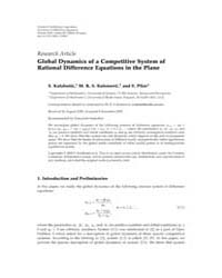 Advances in Difference Equations : Janua... by Agarwal, Ravi P.